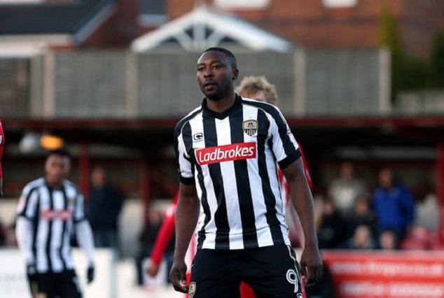 Notts County 'cult hero' , Shola Ameobi Wins Goal Of The Season 1