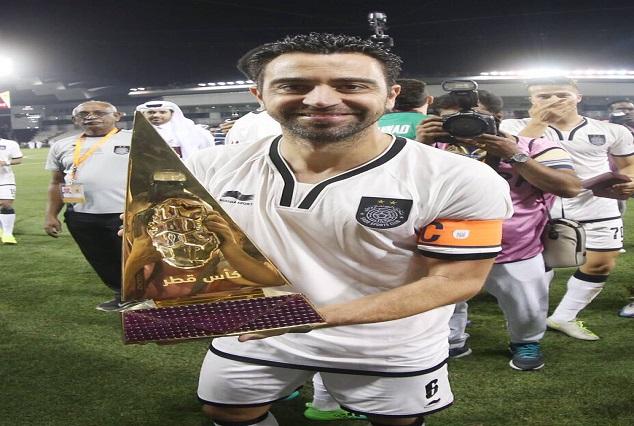 Barcelona Legend Xavi Wins Qatar Cup With Al Sadd 1