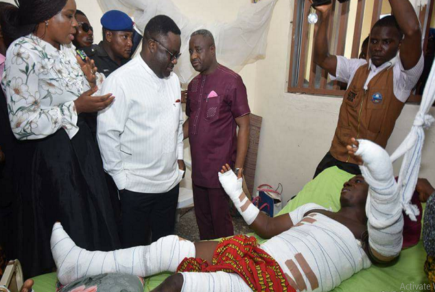 Calabar 30 : Victims of Calabar Electrocution Cry Out Loud For Help To Stay Alive. 1