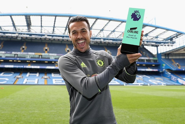 Pedro Sublime Strike Against Everton Voted April Goal Of The Month 1