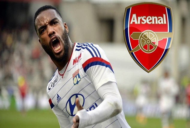 Arsenal Placed A Club-Record Bid Of £44m To Secure The Signing Of Alexander Lacazette 1