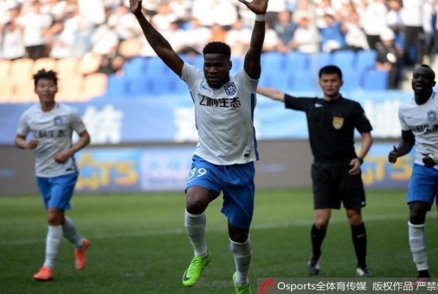 Watch As Former Super Eagles Strikers Light Up Chinese Super League With Goals 1