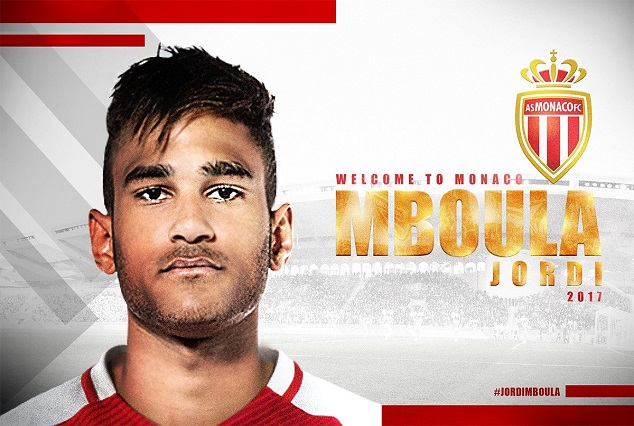 Official : Jordi Mboula Joins Ligue 1 Champion AS Monaco 1