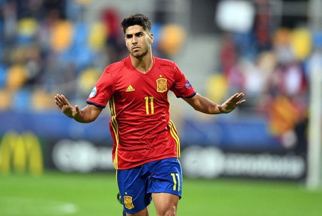 Spain Starlet Marco Asensio Scores Superb Hat-Trick In Spain Rout 1