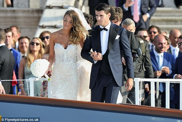 Morata Took A Break From Transfer Talks To Tie The Knot With Alice Campello 11