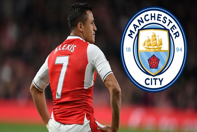 Transfer Update : Report Claims Alexis Sanchez Has Agreed To Join Man-City 1