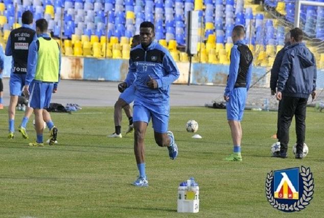Tunde Adeniji's Goal Gives Levski Sofia Easy Win Over Radnik Surdulica 1