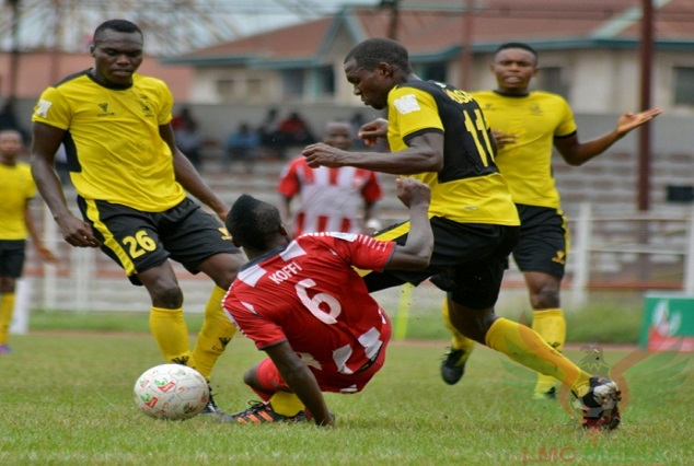 Wikki Tourists Forward Ahmad Usman Wins VAT Wonder Goal 5 1