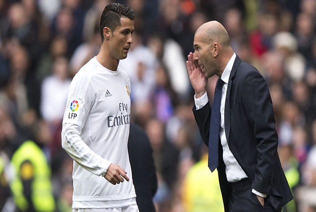 "Ronaldo Replies Zidane : ""I Want To Leave Because Spanish Media Treat Me Like A Criminal"" 1"