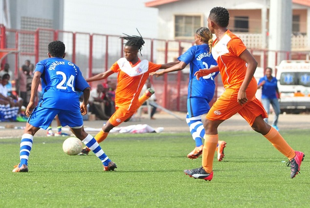 Winifred Eyebhokia's Strike Gives Sunshine Queens A 1-0 Win Over FC Robo Queens 1