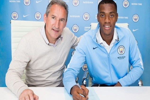 Nigerian Star Signed A Four-Year Contract With Manchester City 1