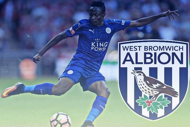 The Baggies Eyeing Summer Move For Leicester City And Super Eagles Forward 1