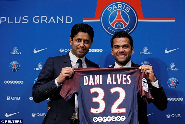 Official: Ligue 1 Giant Secure Signing Of Dani Alves On A Two-Year Deal 3