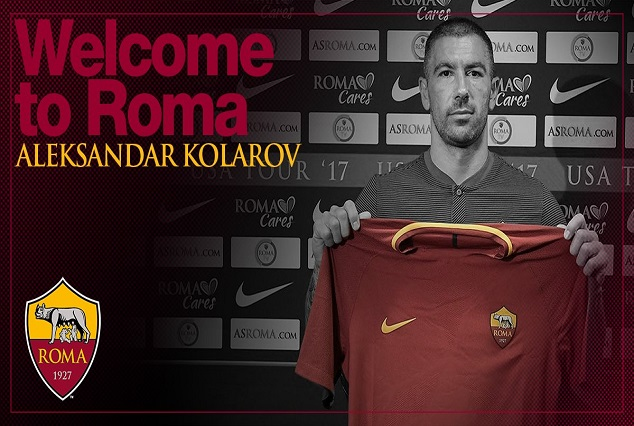 Official: AS Roma Secure Signing Of Aleksandar Kolarov On A Three-Years Deal 1