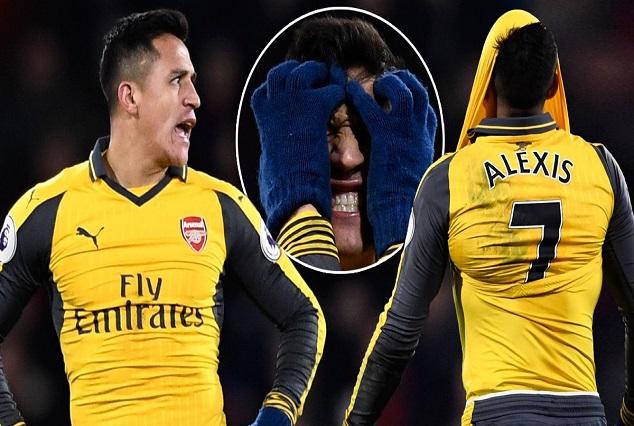 "Is Alexis Sanchez ""Sick"" Of Arsenal ? Left Arsenal Fans Fuming 1"