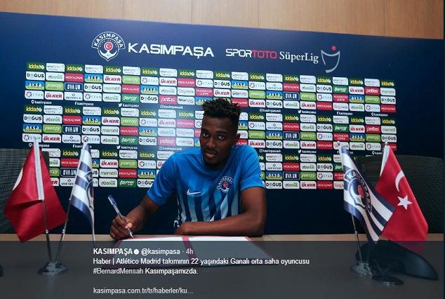 Official: Kasımpaşa SK Secure Signing Of Bernard Mensah From Atletico Madrid 1