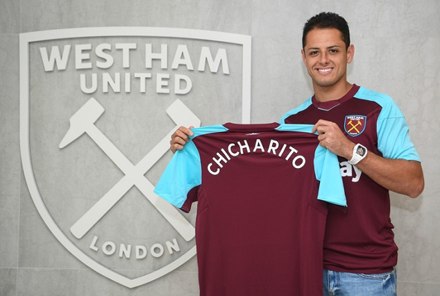 Official: Mexican Star Chicharito Joins West Ham In A Deal Worth £16m 3