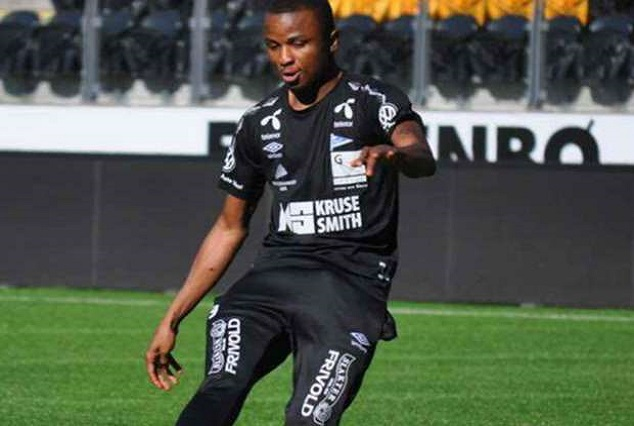 Chidiebere Nwakali Sublime Free-kick Helps Sogndal Fotball Secure A 1-0 Win Over Aalesund 1