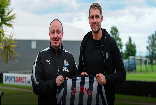 Official : Newcastle United Secure Signing Of SD Eibar Centre-Back FlorianLejeune 1