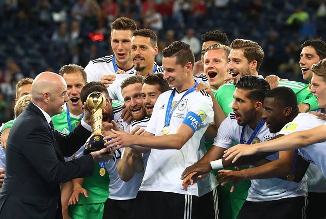 Joachim Low's Youngsters Hands Germany First FIFA Confederation Cup 5
