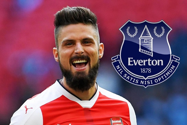Everton Toffees Set Sights On Oliver Giroud To Replace Lukaku 1