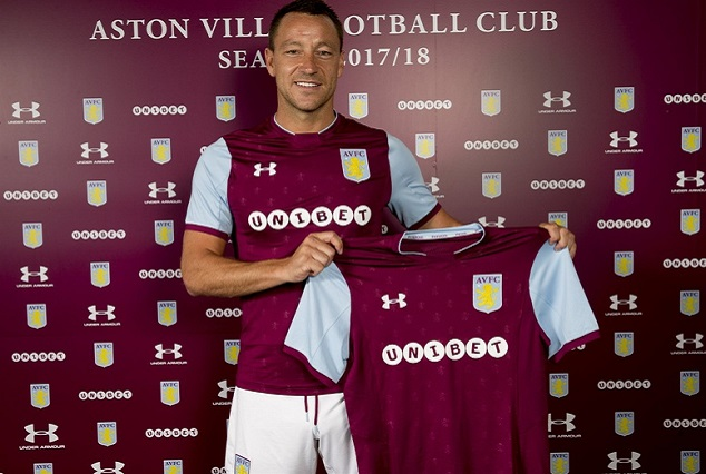Chelsea Legend John Terry Signs A One-Year Deal With The Villans 1