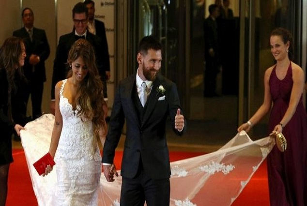 "Interesting Pictures Of Lionel Messi's Wedding : Dubbed ""The Wedding Of The Year"" 21"