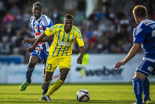 Patrick Twumasi Secure Goal No 7 , While Annan And Evans Put HJK Helsinki Out Of Europa Misery 3