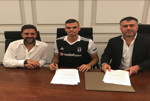 Official: Pepe Joins Turkish Champions Beşiktaş Following Real Madrid Release 1