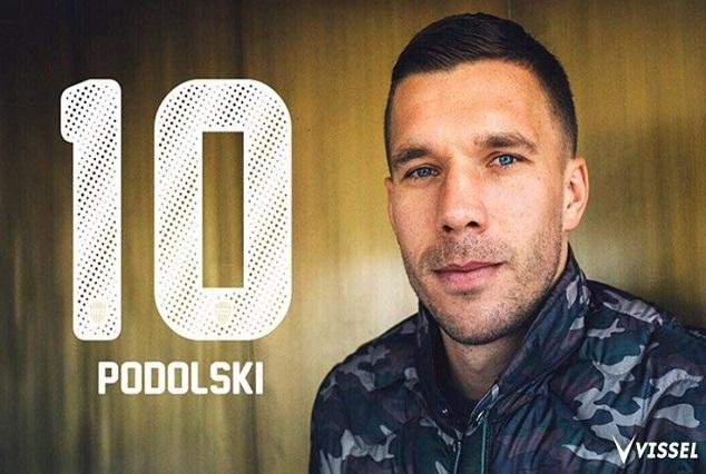 Official : Lukas Podolski Joins J1 League Side Vissel Kobe 1