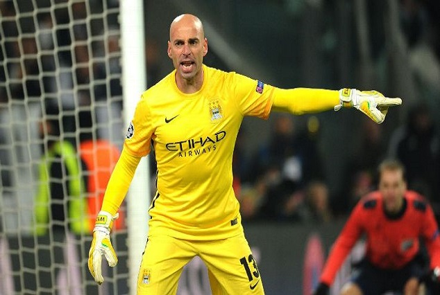 Official : Premier League Champions Secure Signing Of Man City Reject Willy Caballero 1