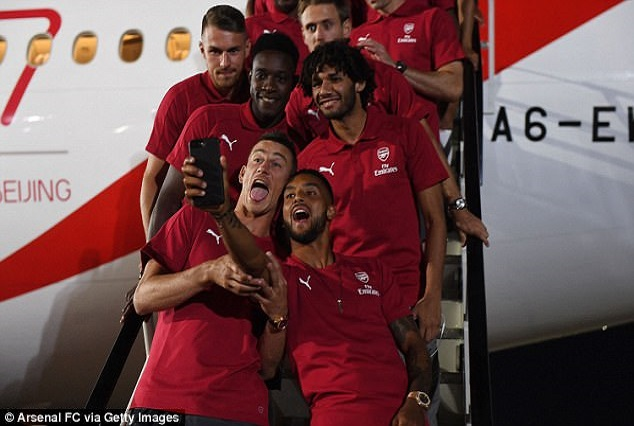 Arsenal Jet Out For Two-Week Pre-Season Tour Of Australia And China 13