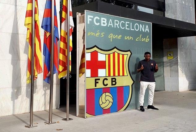 Barcelona Record Signing Arrives For Medical 1