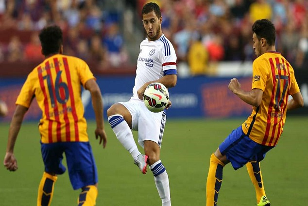 Bad News For Chelsea Fans , As Eden Hazard Reaches Out To Barca 1