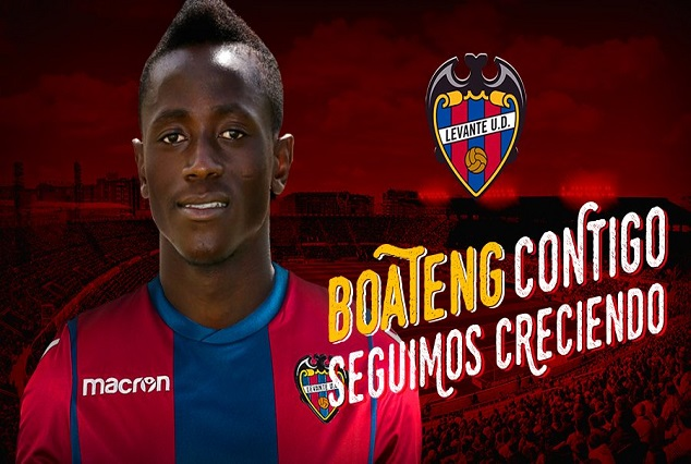 Official: Levante UD Secure Signing Of Ghanaian Striker On A Four Year Deal 1