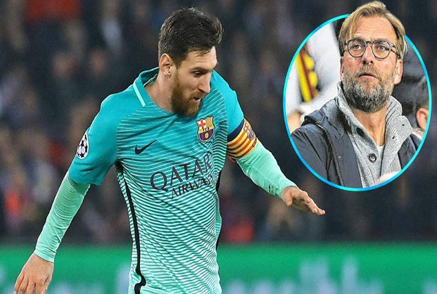 Barcelona Be Warned! Messi €300m Release Clause Could Be Met - Klopp 1