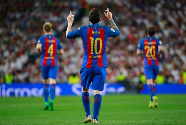 The Touching Story Behind Lionel Messi's 5 Most Iconic Goal Celebrations 11