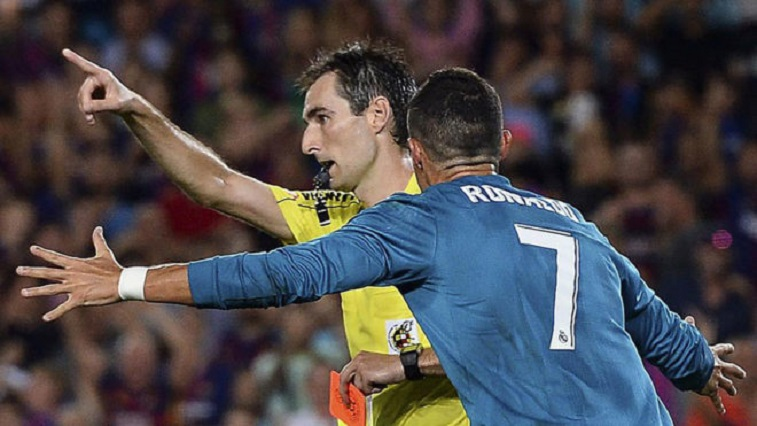 Breaking ! Ronaldo Suspended For Five Games Following Ref Push 3