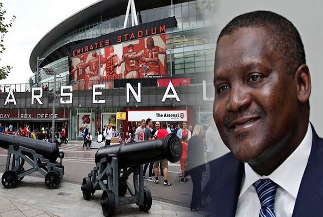 Aliko Dangote Pledges To Buy Arsenal And Fire Wenger 1