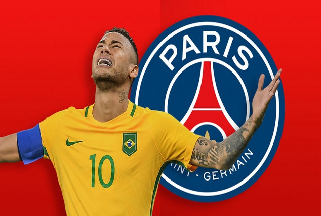 IT'S ALL YOURS ! PSG First Welcome Gift For Neymar: No.10 Jersey 1