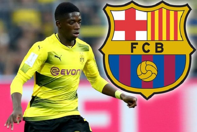 Breaking ! Barca Secure Signing Of Ousmane Dembélé On A Record Fee Of £138.4m 1