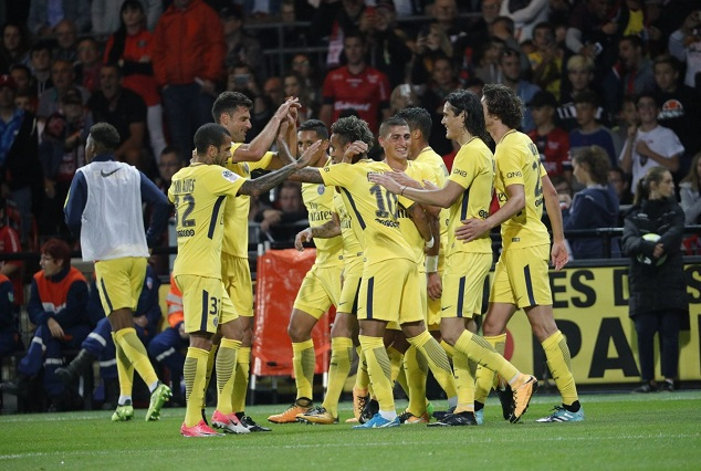 Neymar Shines On Debut As PSG Secure A Convincing 3-0 Win Over Guingamp 3