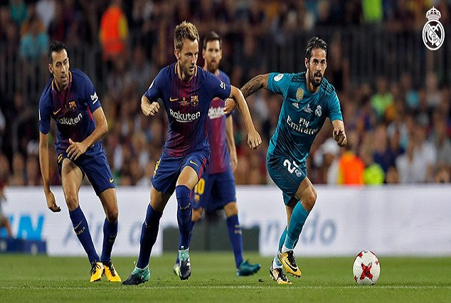 10 Men Los Blancos Punish Sloppy Barcelona At Camp Nou 5