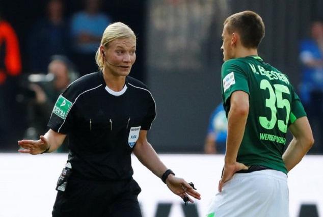 Bibiana Steinhaus Becomes First Female To Officiate In A Major European League 1