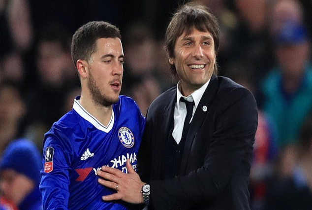 Hazard Heap Praise On Conte : I Improve After A Week With Him 1