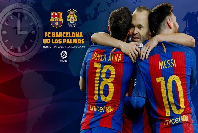 Barcelona Game Against Las Palmas In Jeopardy 1
