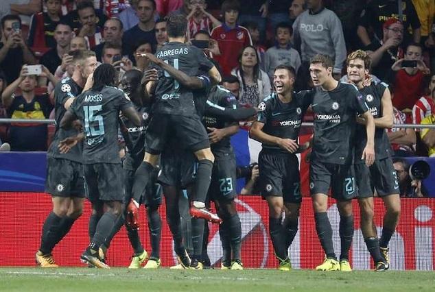 Michy Batshuayi's Late Goal Stun Atletico And Diego Costa 1