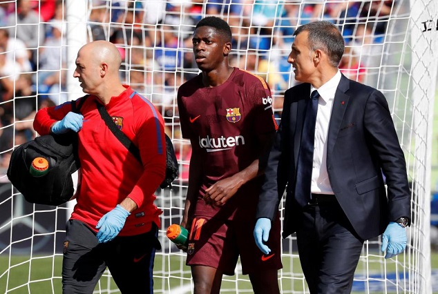 Ousmane Dembele Flown To Finland For Hamstring Surgery 1