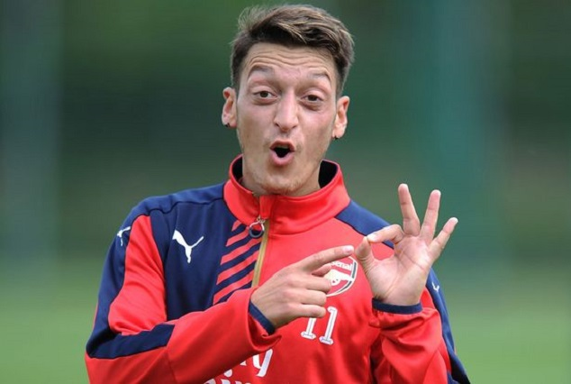 Shut The F**k Up & Start Behaving Like A True Legend- Ozil Blasts Arsenal Legends 1