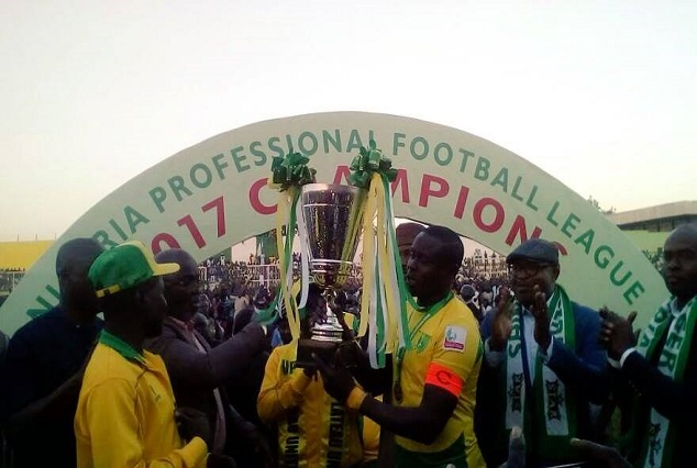 Plateau United Are New Champions Of The NPFL 1